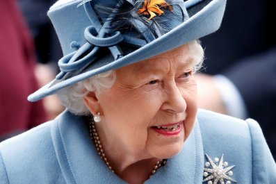 Queen Elizabeth II Attends Commonwealth Day Service