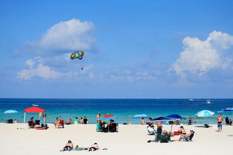 Miami beaches reopen