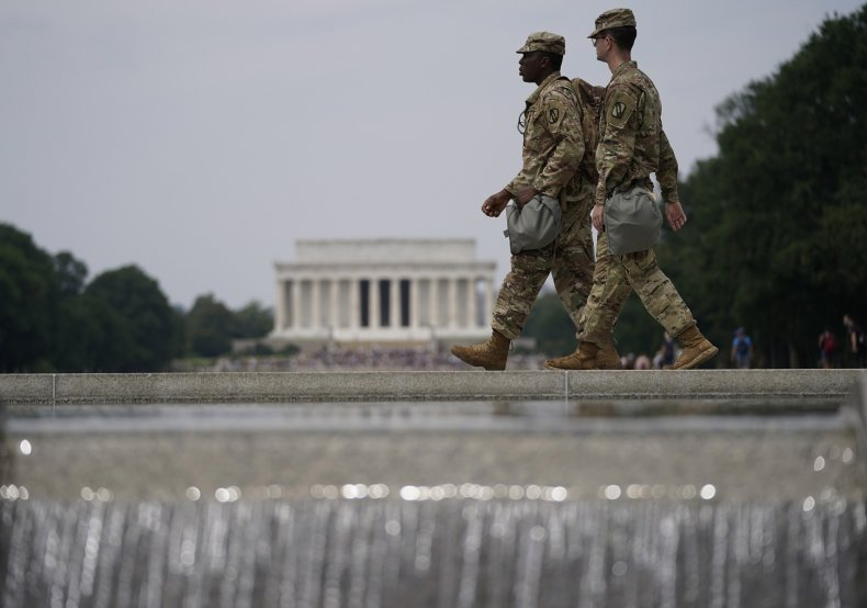 National Guard, D.C., George Floyd protests
