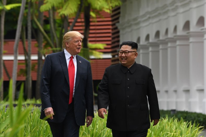 kim, jong, un, donald, trump, summit, singapore