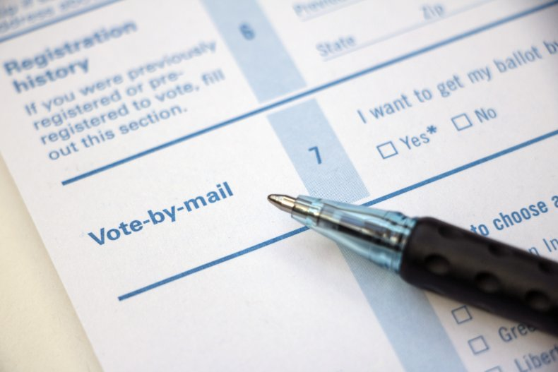 Vote-by-mail Form