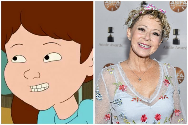 f is for family maureen Debi Derryberry