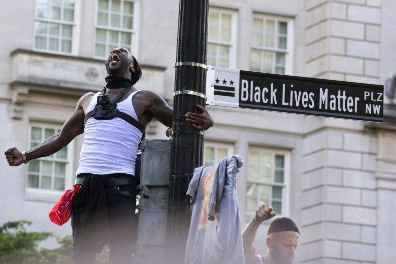 Black Lives Matter Plaza Washington D.C.