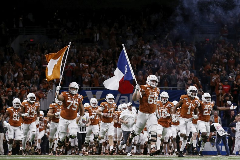 Texas Longhorns, college football