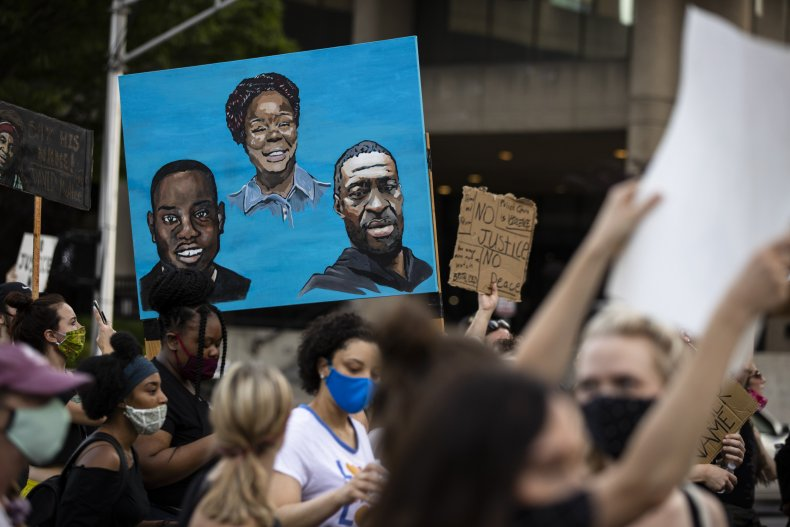 Protests Continue In Louisville Over Police Killings