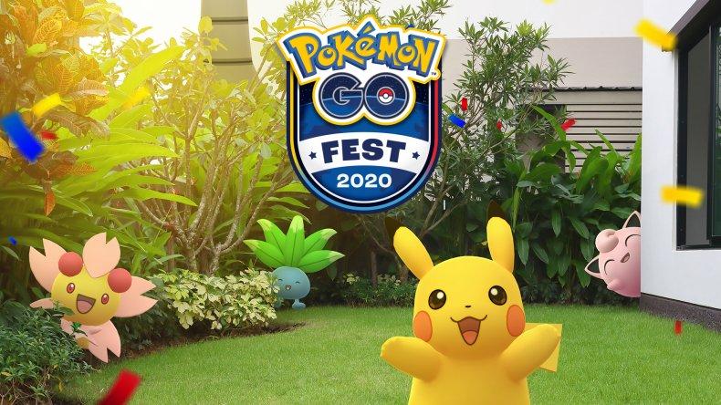 pokemon go fest 2020 virtual logo