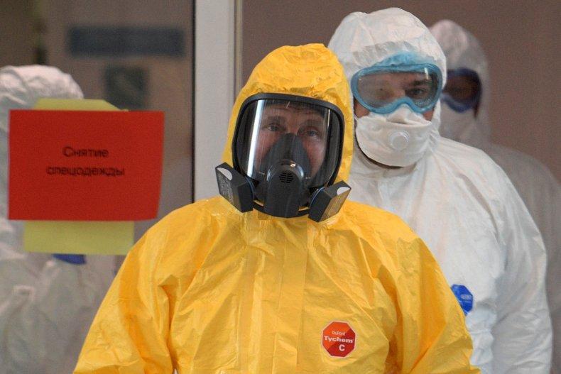 russian president vladimir putin coronavirus