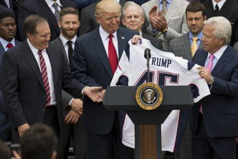Donald Trump, NFL