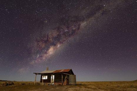 Milky Way, Australian outback