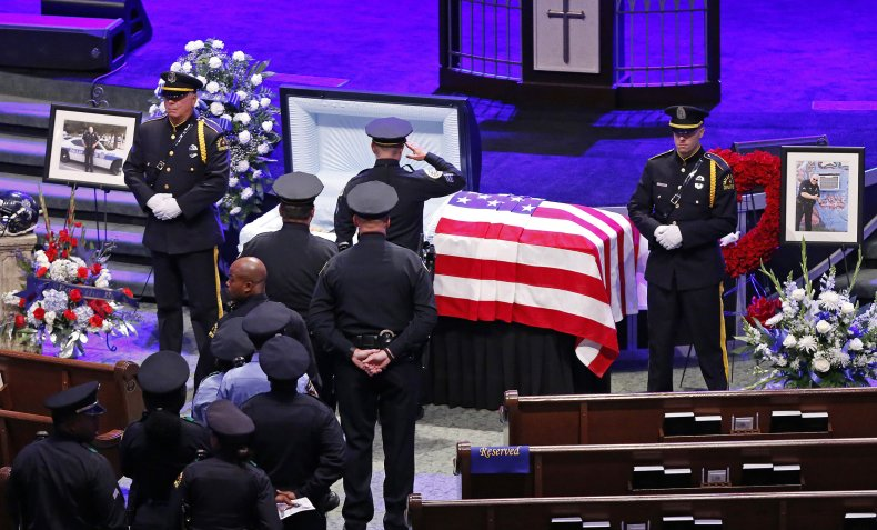 Funeral service for Senior Corporal Lorne Ahrens