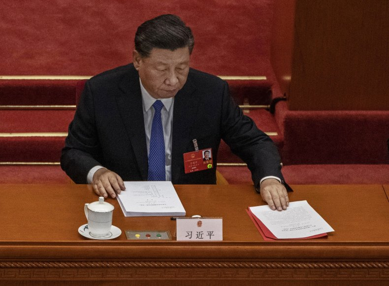 Chinese President Xi Jinping in Beijing