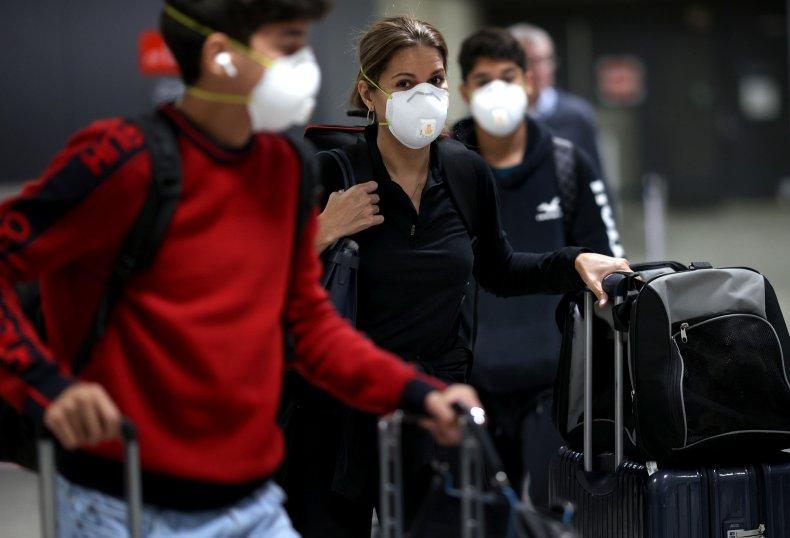 Airport Face Masks