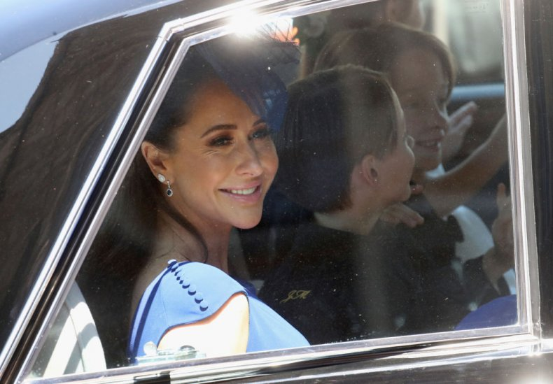 Jessica Mulroney at Meghan Markle's Royal Wedding