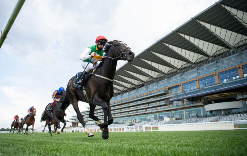 Royal Ascot's Empty Stands After Coronavirus