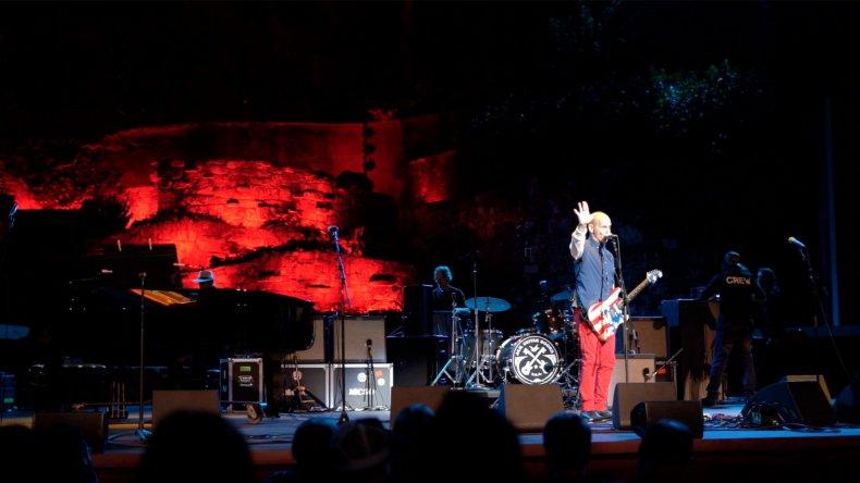 Punk rock guitarist Wayne Kramer Benefit Concert