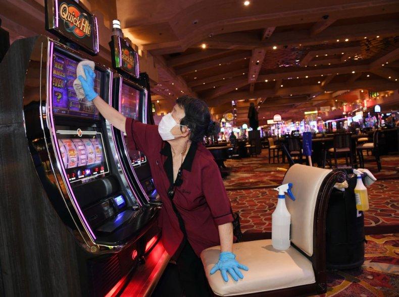 Las Vegas Casino during Coronavirus