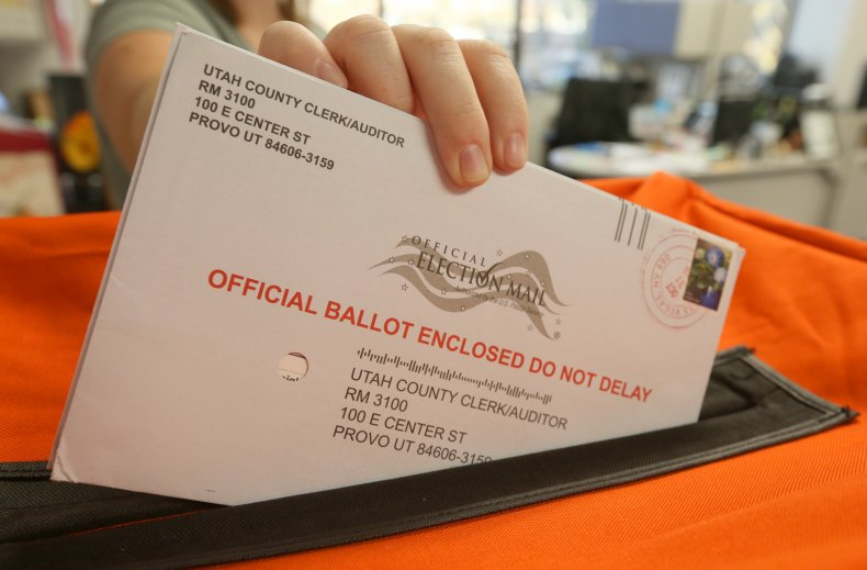 Mail-in election ballots