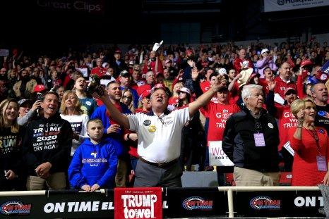 Trump Rally Audience