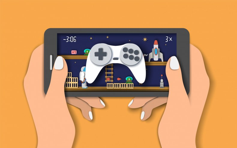 mobile gaming getty