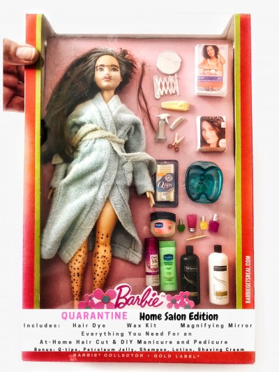 Barbie, lockdown, family, quarantine