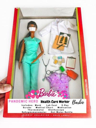 Barbie, lockdown, parody, family