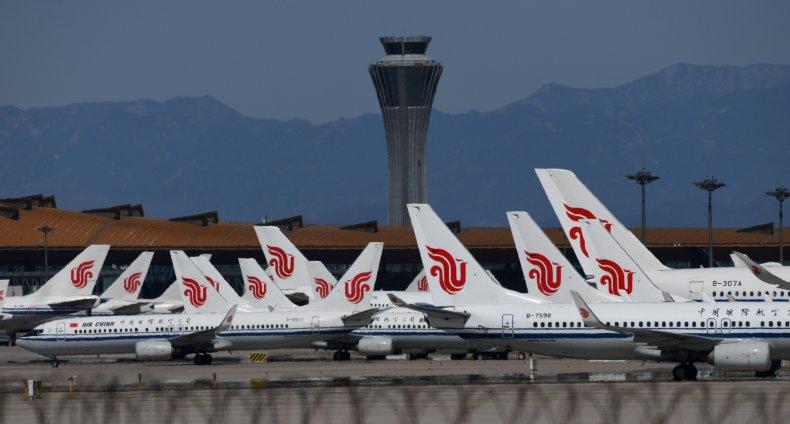 Air China planes