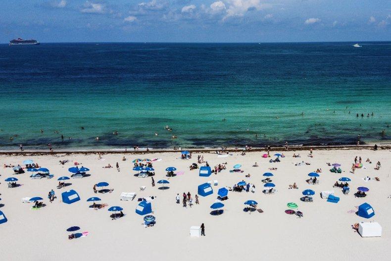 Miami Beach, Florida, June 2020