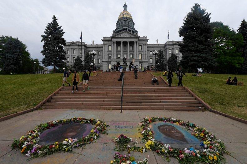 George Floyd Memorial in Denver