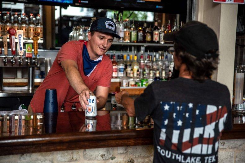 Austin, Texas, bar, May 2020