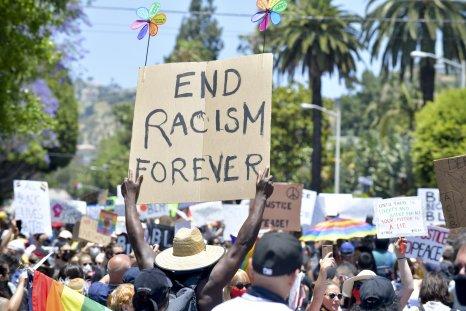 George Floyd protest Los Angeles June 2020