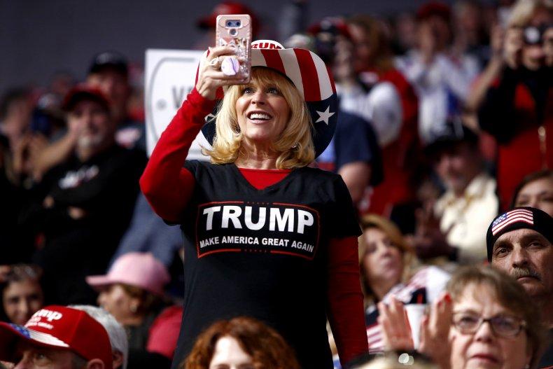 Donald Trump rally North Carolina March 2020