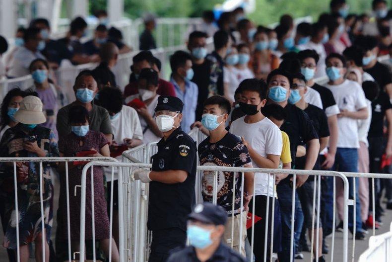 Beijing coronavirus testing
