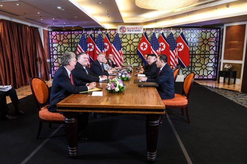 bolton, pompeo, trump, kim, north, korea
