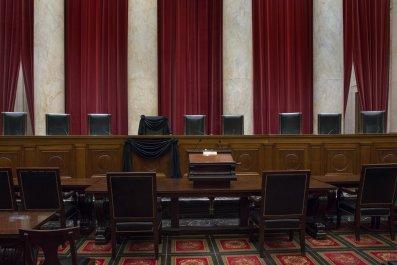 supreme court empty bench 2016