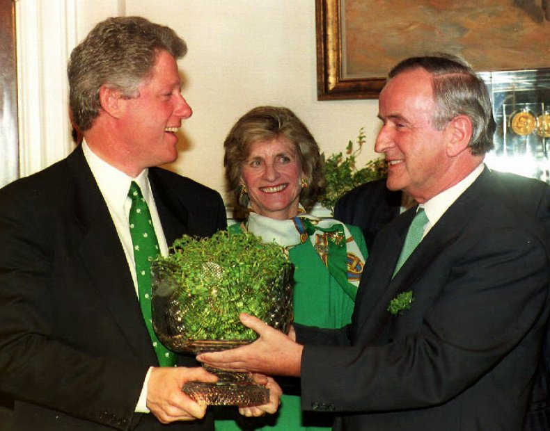 Bill Clinton Jean Kennedy SMith