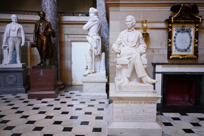 Pelosi orders removal confederate portraits
