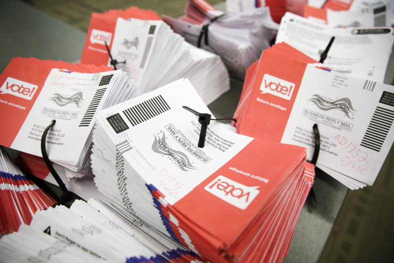 Vote-by-mail ballots in Washington state