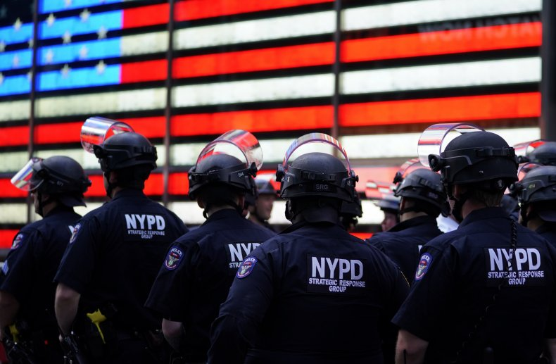 NYPD New York police officers