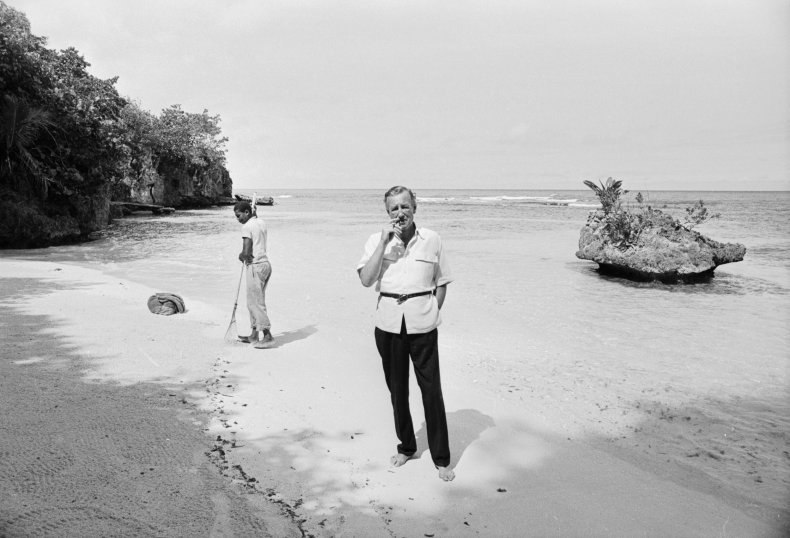 Fleming In Jamaica