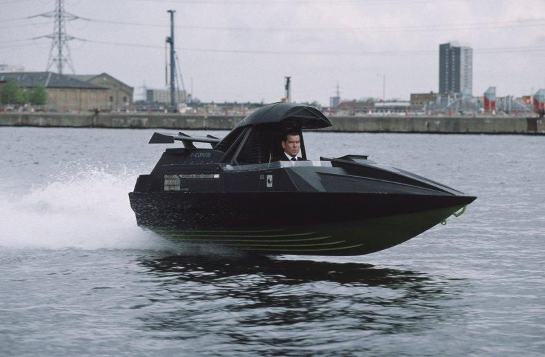 Pierce Brosnan as Bond