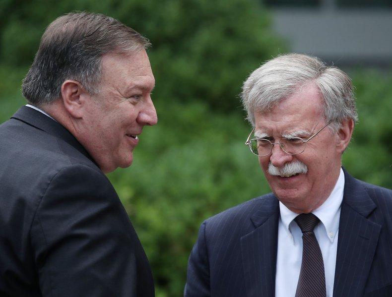 Mike Pompeo, John Bolton, North Korea, book,traitor
