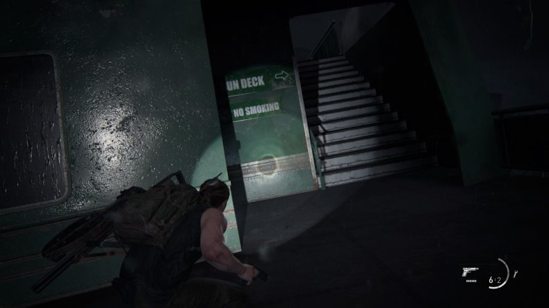 last of us 2 manual 8 stairs