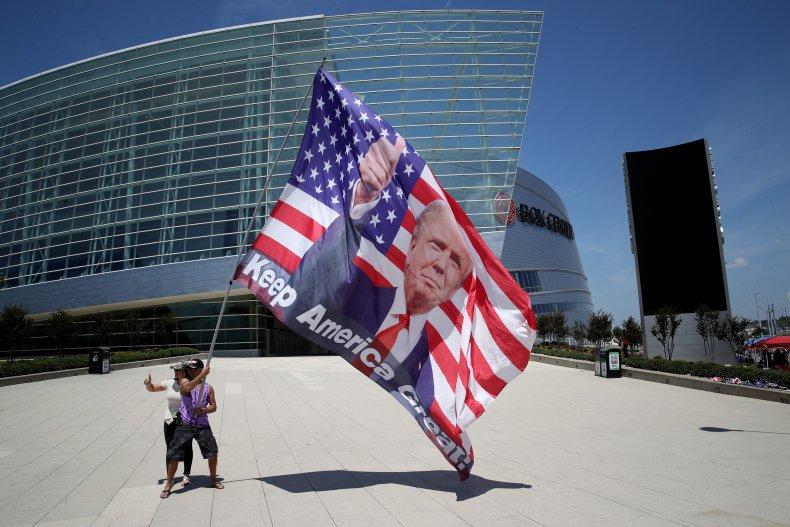 Trump rally Tulsa Oklahoma