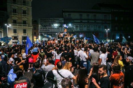 Napoli street celebrations