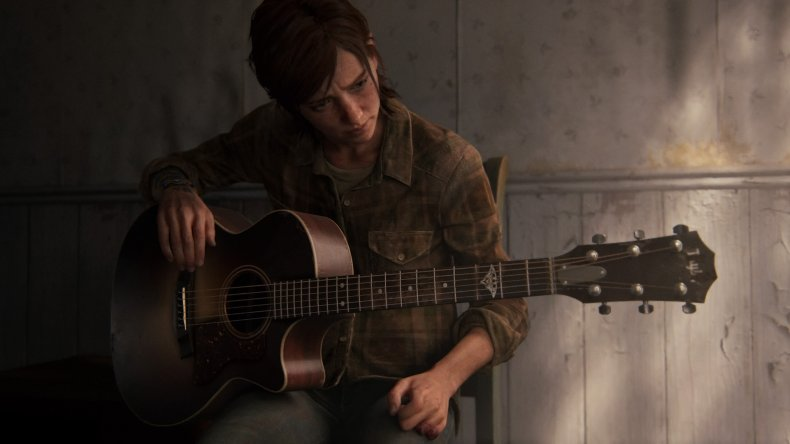 last of us 2 ending ellie guitar