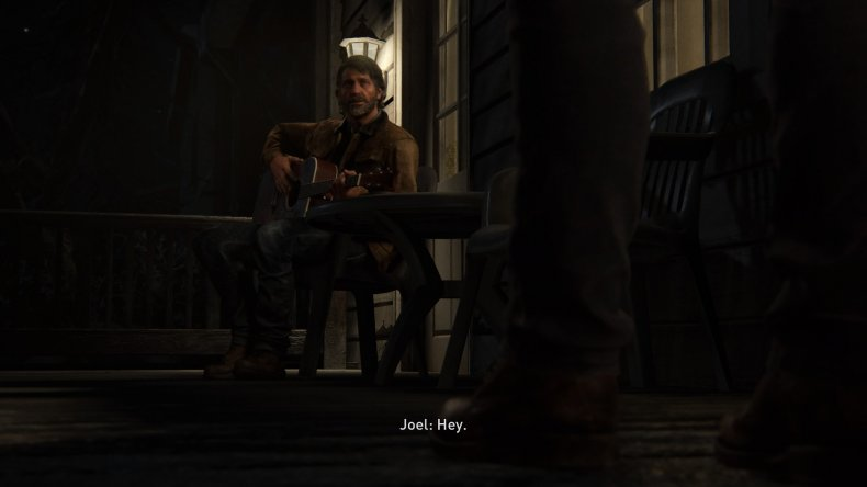 last of us 2 ending joel guitar