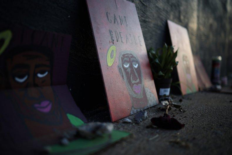Tulsa Massacre mural