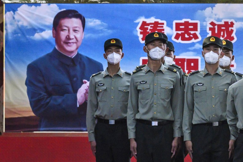 china, peoples, liberation, army, xi, jinping