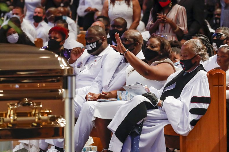 Funeral for George Floyd in Houston