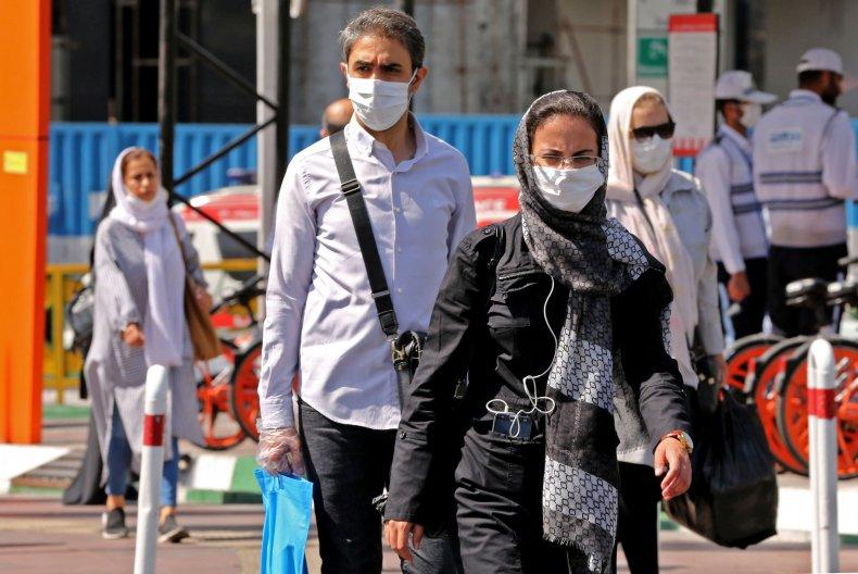 Coronavirus Pandemic in Tehran